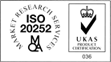 ISO20252 accredited